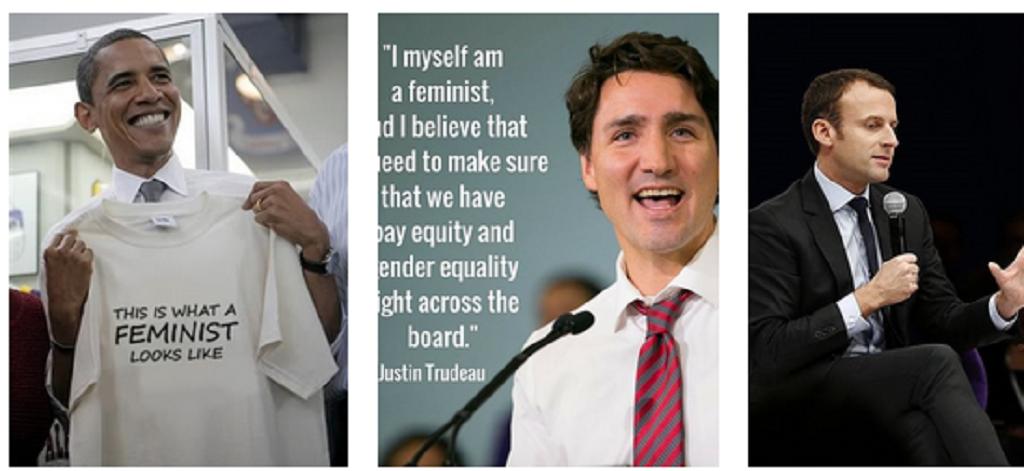 Leader uomini femministi? Davvero?