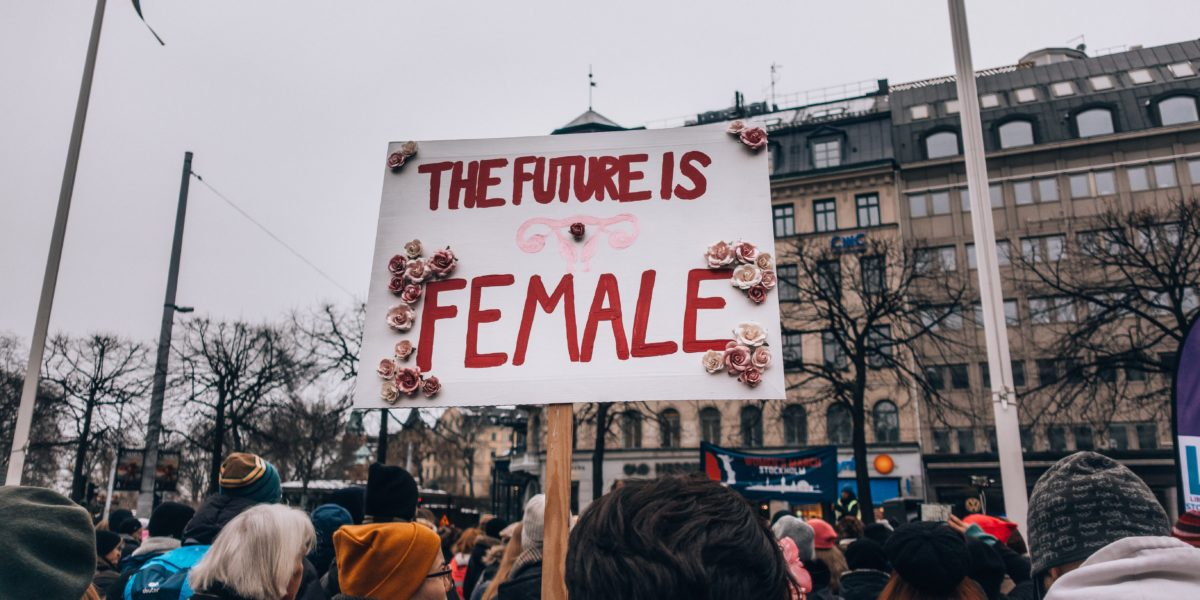 Manifestazione femminista.