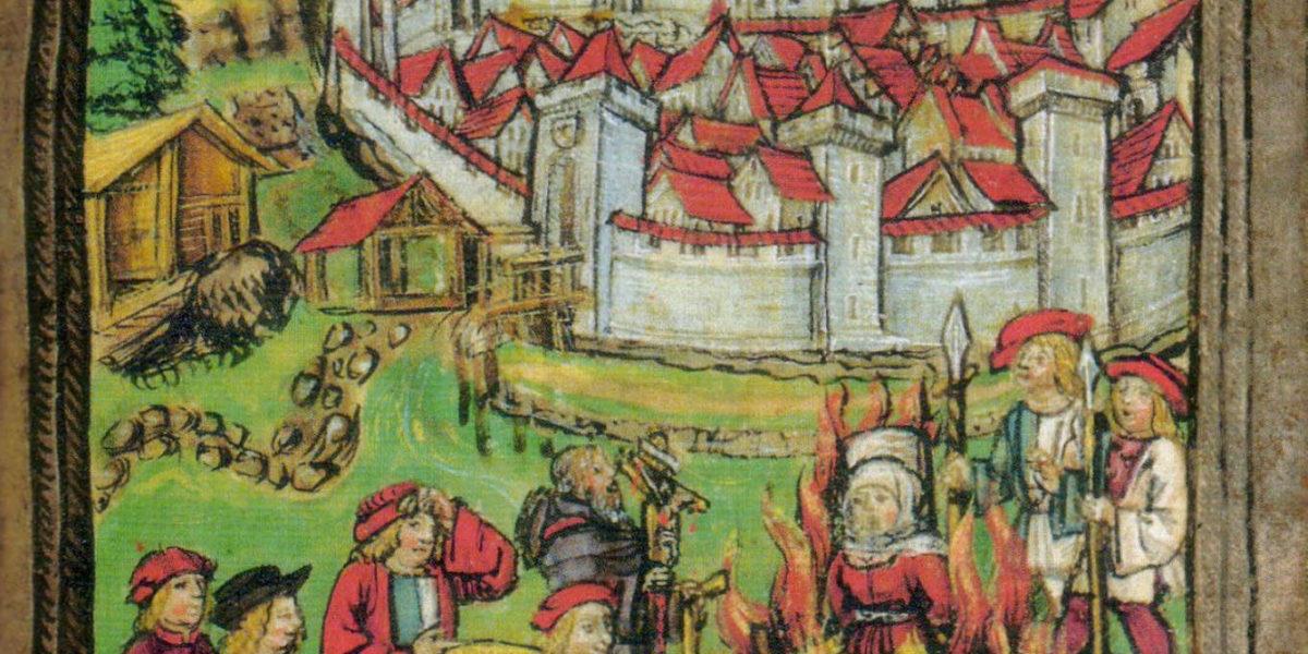 La caccia alle streghe nel 1447