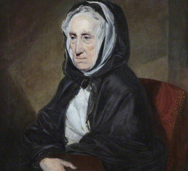 Ritratto della madre di Adam Smith, Margaret Douglas.